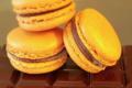 Elodie Gaffoglio. Macaron chocolat