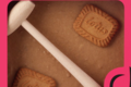 Aline chocolatière. Chocolat à casser blanc praliné spéculoos