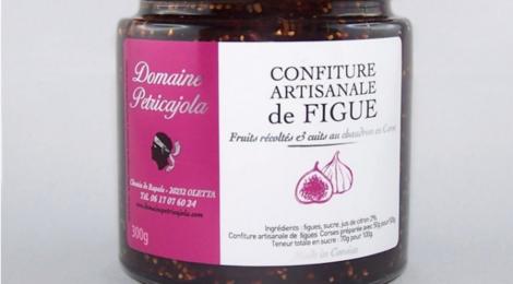 Domaine Petricajola. Confitures de figue