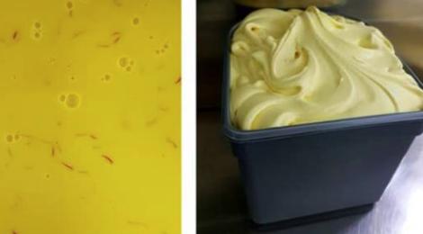 Paoli Gourmet. glace Safran-Miel