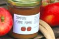 Les pommes d'Abit. compote de pomme