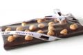 Chocolaterie Lamy. Tablette noir noisettes