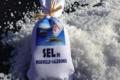 Salins de ko. Sac de sel de nouvelle calédonie