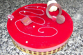 Boulangerie Le Moulin. Entremet fruits rouges