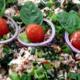 Traiteur Hirzel. Salade de crabes frais et papaye pimentée
