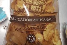 Les Chips de l'Aveyron. Chips ondulées au chaudron