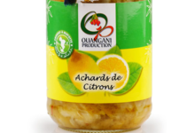 Ouangani productions. Achard de citron de Mayotte