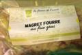 La Ferme de l'Ouest . Magret fourré au foie gras
