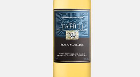Domaine Ampélidacées, vin de Tahiti. Blanc moelleux