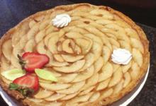Pâtisserie La Marquisienne. Tarte aux pommes