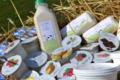 La ferme des Sablières. yaourt vanille